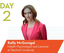 Dr. Kelly McGonigal